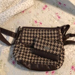 Longaberger cross body and wallet